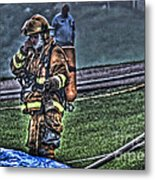 Keep Fire In Your Life No 5 Metal Print