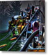 Keep Fire In Your Life No 6 Metal Print