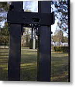 Keep Out  Metal Print by Eugene Bergeron
