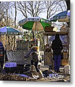 Keep Park Clean - Central Park - Nyc Metal Print