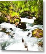 Keep Your Focus Metal Print by Chris Heitstuman