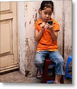 Keeping In Touch Metal Print
