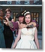 Keira's Destination Wedding - The Pirate Part Metal Print