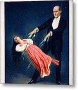 Kellar Levitation Vintage Magic Poster Metal Print
