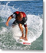 Kelly Slater World Surfing Champion Copy Metal Print