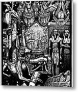 Kemitology Metal Print by Matthew Ridgway