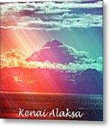 Kenai Alaska Mount Redoubt Metal Print