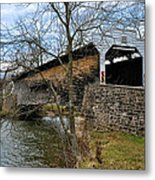 Kennedy Covered Bridge - Chester County Pa Metal Print