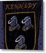 Kennedy Crest Metal Print