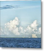 Kennedy Space Center Metal Print