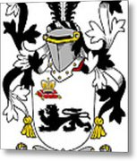 Kennelly Coat Of Arms Irish Metal Print