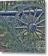 Kennesaw Cannon 4 Metal Print
