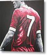 Kenny Dalglish - Liverpool Fc 2 Metal Print