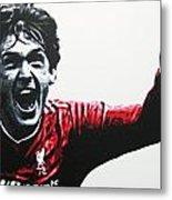 Kenny Dalglish - Liverpool Fc Metal Print