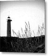 Kenosha North Pier Lighthouse Metal Print