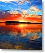 Kensington Sunset Metal Print