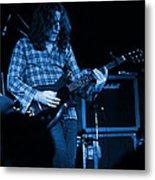 Kent #23 Crop 2 In Blue Metal Print