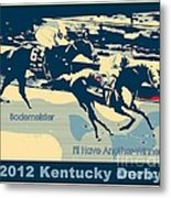 Kentucky Derby Champion Metal Print by RJ Aguilar