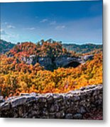 Kentucky - Natural Arch Scenic Area Metal Print