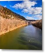 Kentucky River Palisades Metal Print