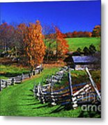 Kentucky Settlement Metal Print