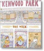 Kenwood Park Metal Print