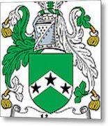 Ker Coat Of Arms Irish Metal Print