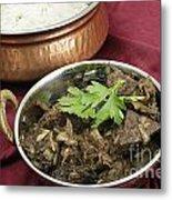 Kerala Mutton Liver Fry Horizontal Metal Print