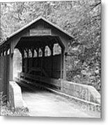 Herns Mill Bridge Metal Print
