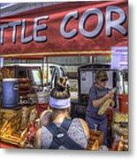 Kettle Corn Metal Print