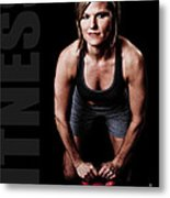 Kettlebell Time Metal Print