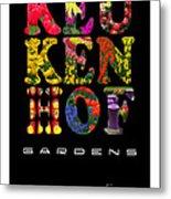 Keukenhof Gardens The Poster Metal Print