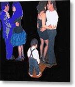 Kevin Howard's Wedding Dancers Tucson Arizona 1990-2012 Metal Print