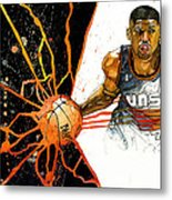 Kevin Johnson - Power Supplier  Metal Print