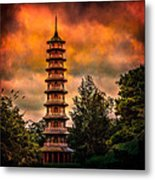 Kew Gardens Pagoda Metal Print