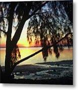 Key Biscayne Sunset Metal Print