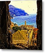 Key Hole View Of Dubrovnik 2 Metal Print