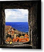 Key Hole View Of Dubrovnik Metal Print