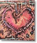 Key To Her Heart Metal Print