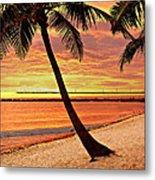 Key West Beach Metal Print by Marty Koch