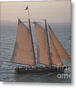 Sail Boat - Key West Florida Metal Print