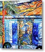 Key West Still Life Metal Print