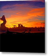 Key West Sun Set Metal Print