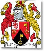 Keyes Coat Of Arms Irish Metal Print