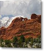 Keyhole To Pikes Peak Metal Print