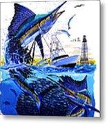 Keys Sail Metal Print