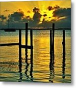 Keys Sunset Metal Print
