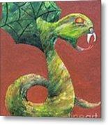 Khiel...the Snake Metal Print