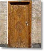 Khiva Door No.12 Metal Print