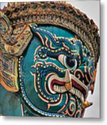Khmer Guard Metal Print